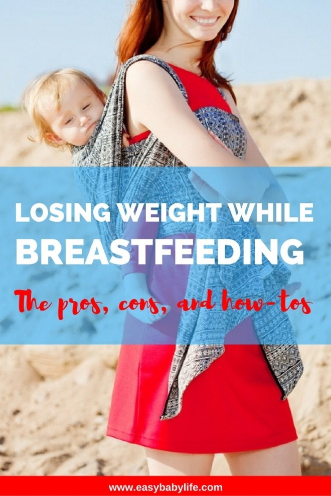 losing weight while breastfeeding