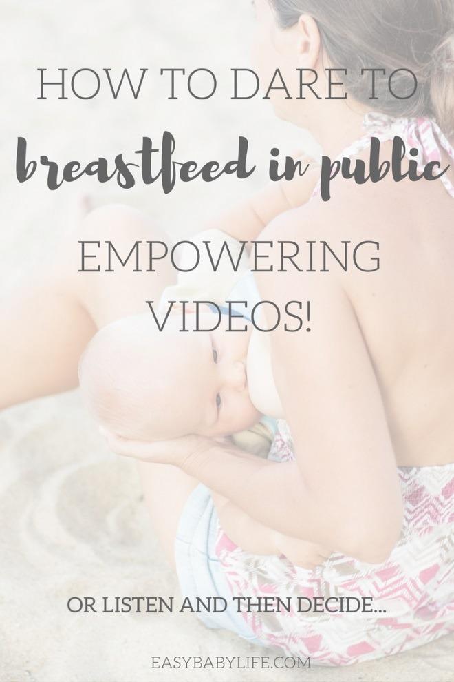 breastfeeding in public videos