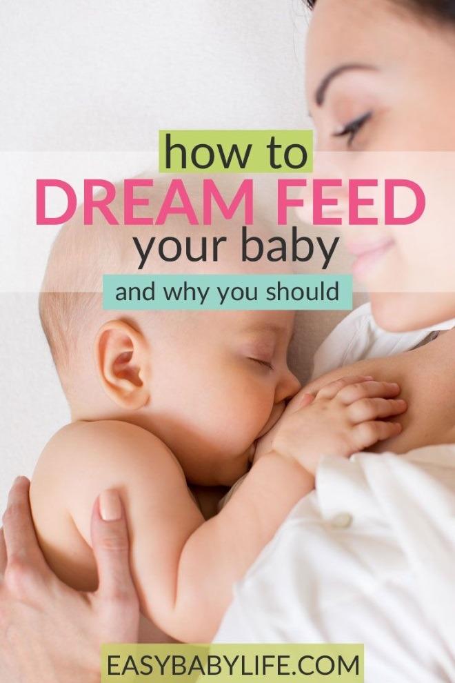 how dreamfeed baby