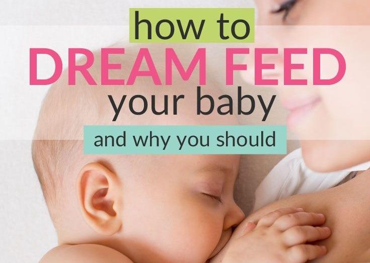 dreamfeeding a baby tips