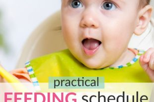 baby feeding schedule 8-12 month baby
