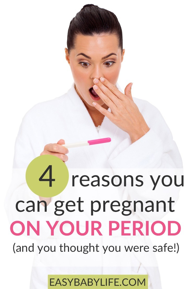 getting pregnant on your period