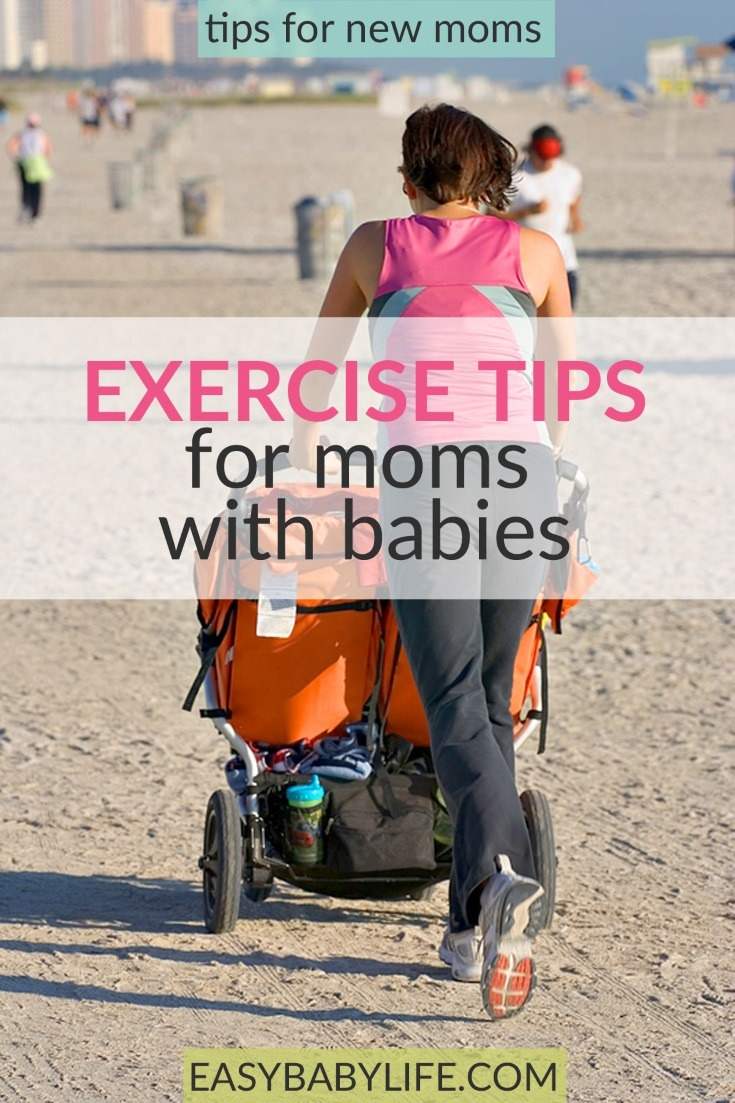 Some inspiring mom and baby exercise tips! It doesn't have to be complicated! Mom baby exercise tips, postnatal exercise tips, mom baby exercise at home, pilates after baby, mom and baby yoga, exercise tips for new moms