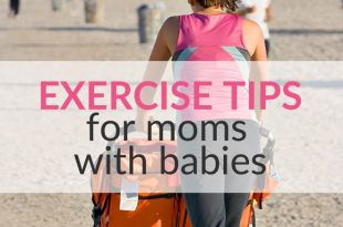 mom and baby exercise tips