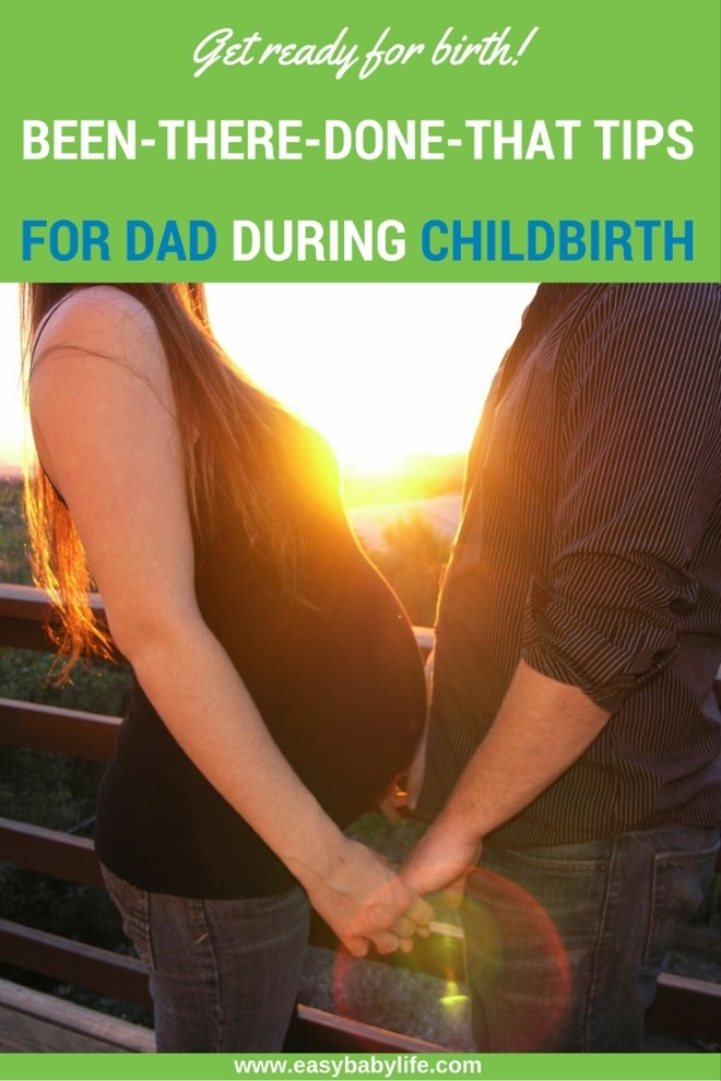 tips for dad during labor