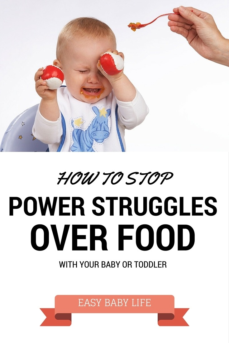 how stop power struggles over food