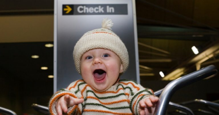 9 Tips For Air Travel With A Baby Without (Too Many ) Tears