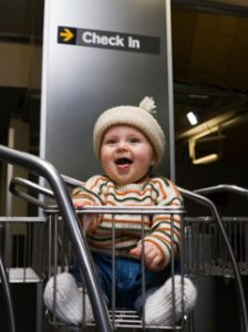 Air Travel With A Baby Without (Too Many ) Tears