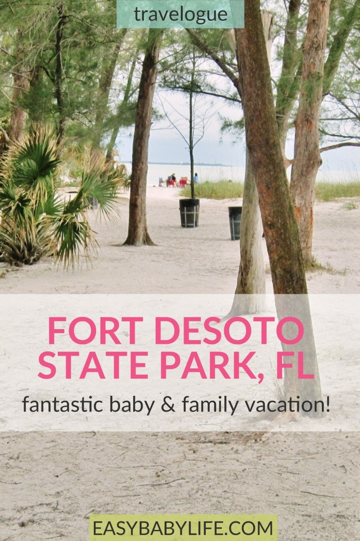 fort desoto state park family vacation