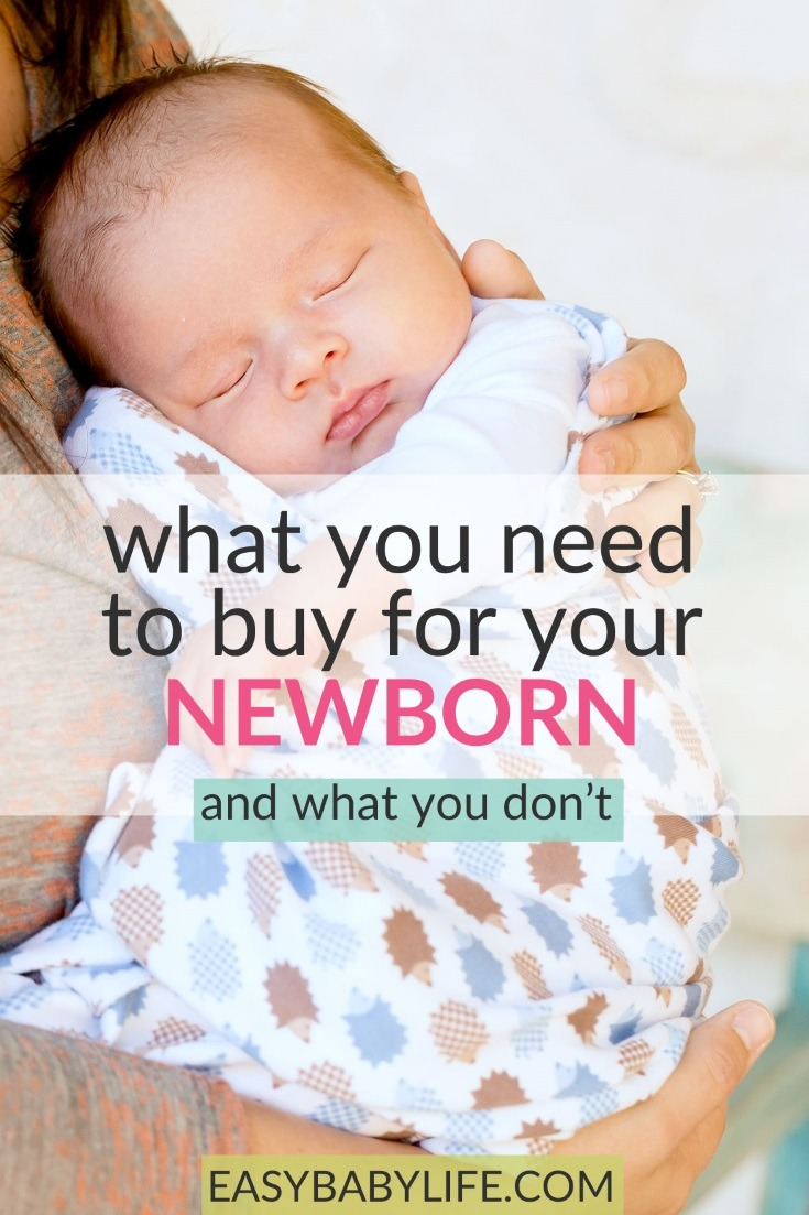 List of the newborn must haves and what not to buy! Baby products, newborn first aid kits, newborn toys and gear not needed, newborn baby stuff, newborn baby essentials