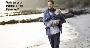 go on paternity leave
