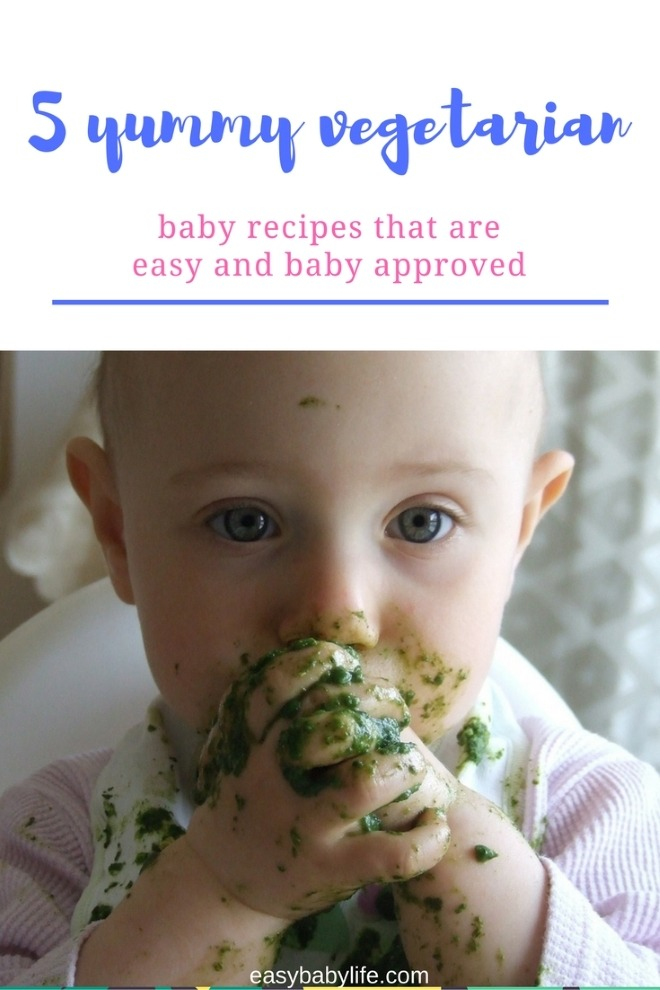 vegetarian baby food recipes