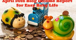 april 2016 blog income report