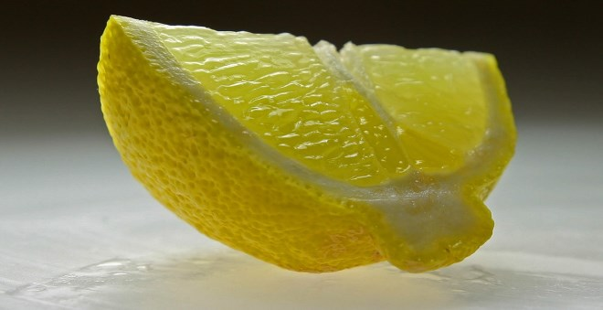 lemon for blackheads