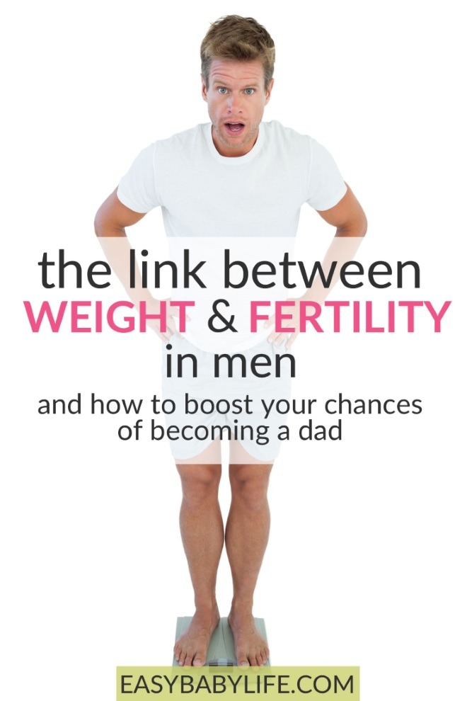 fertility and weight in men