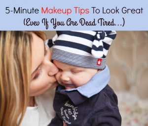 5-Minute Makeup To Look Great (Even If You Are Dead Tired)!