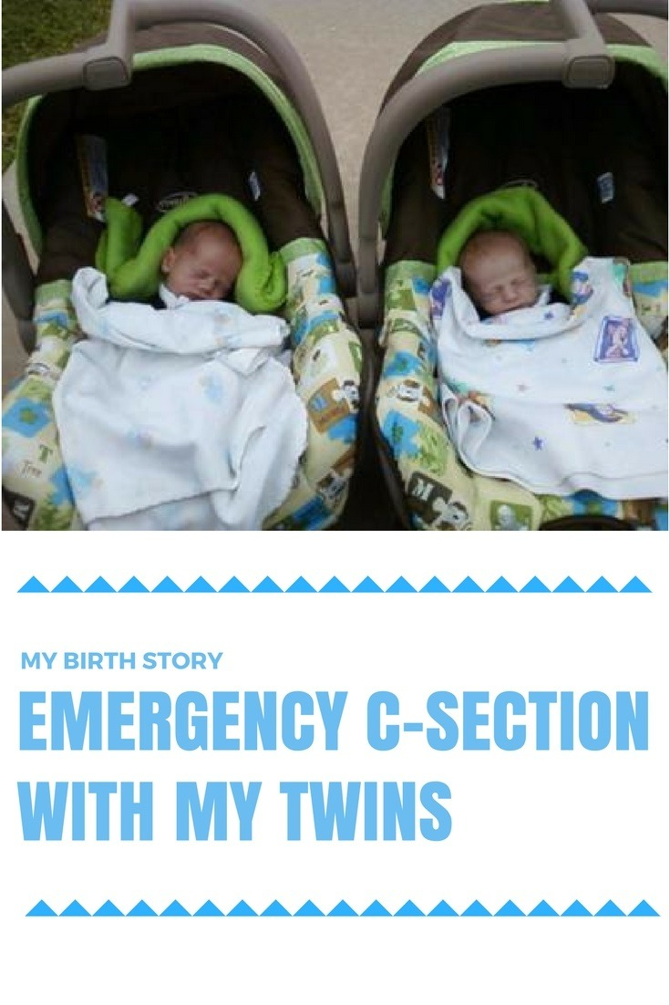 emergency c-section twins