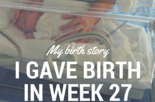 premature birth week 27