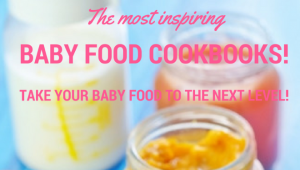 Inspiring Baby Food Recipe Books to Make Really Yummy Baby Food!