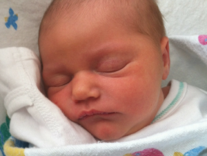 My Baby Was In A Hurry! (Birth Story Shared)