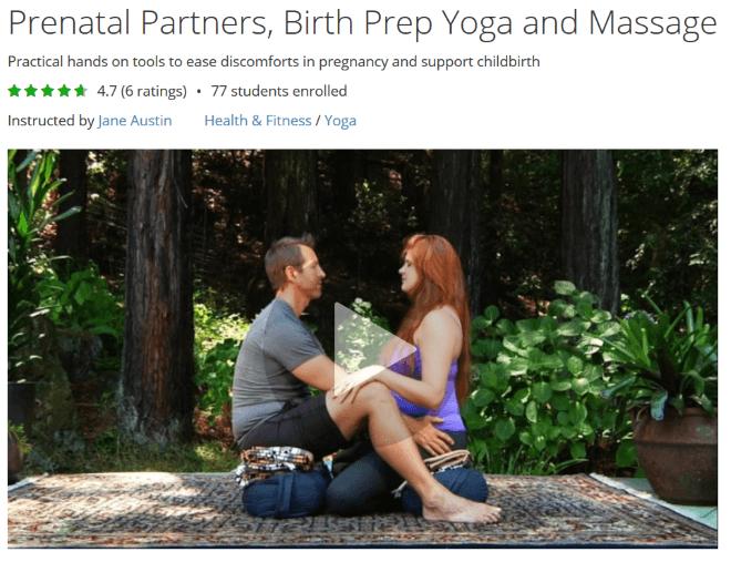 prenatal partner prep class jane austin