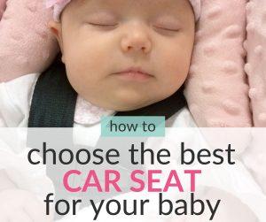 infant car seat tips