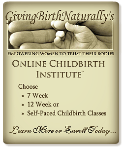 giving birth naturally childbirth class