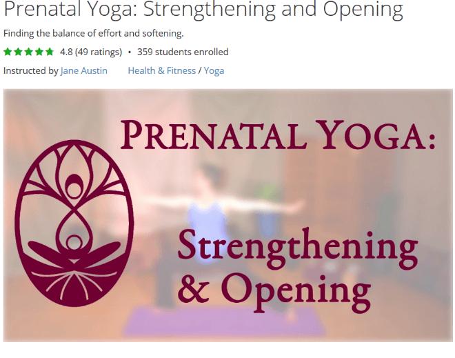 prenatal yoga jane austin