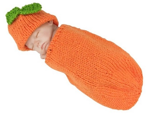 infant pumpkin crotchet