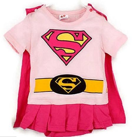 supergirl romper onesie