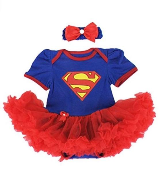 superman baby girl costume