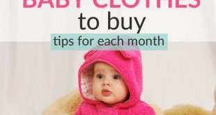 baby clothes guide