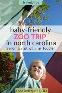 NC zoo baby-friendly