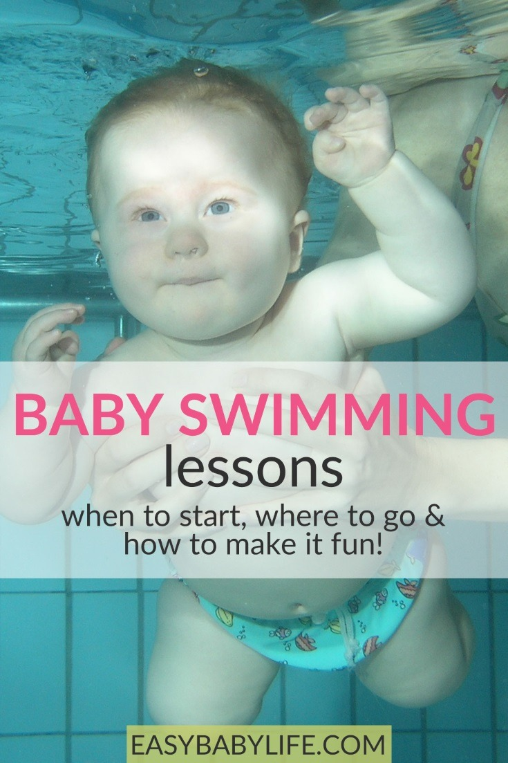 Who is curious about baby swimming lessons? Here's my experience of it! Baby swimming tips, baby activities, baby swimming lessons #baby