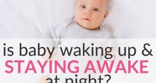 baby waking up and staying awake