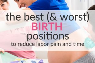 best birth positions