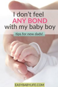 don't feel bond with baby