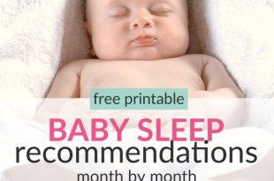 Baby sleep schedule from newborn to toddler