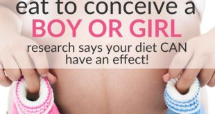 diet to conceive a boy or girl
