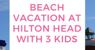 family vacation at hilton head, sc
