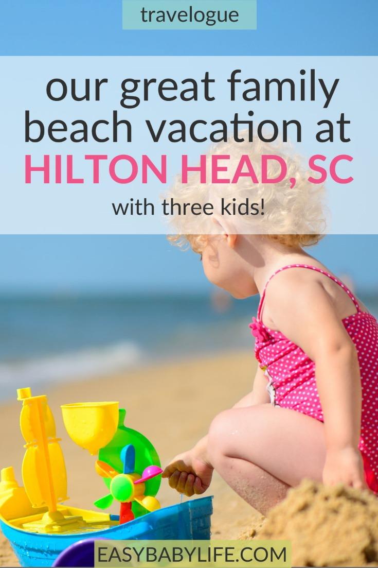 family vacation at hilton head