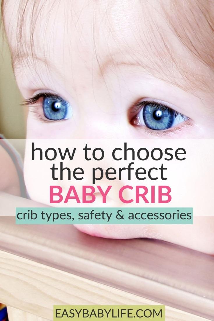 Useful tips for buying a baby crib! Baby crib ideas, baby crib safety, baby crib hacks, baby crib accessories, baby crib tips