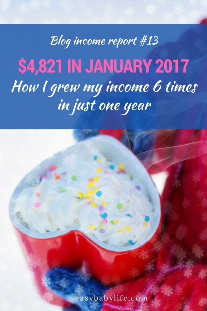 january 2017 blog income report