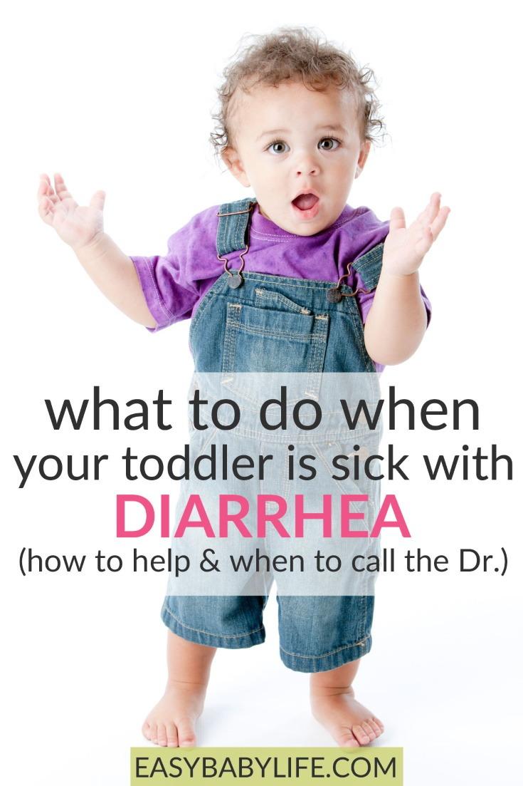 toddler has diarrhea
