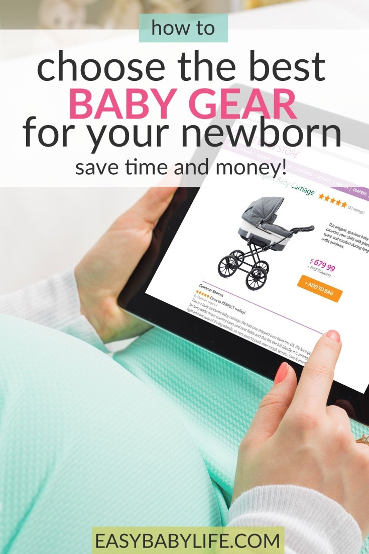 Great tips for anyone who needs some help in the baby gear jungle! Baby gear, baby essentials, baby stroller, infant car seat, baby crib, baby gear must-haves, baby gear checklist