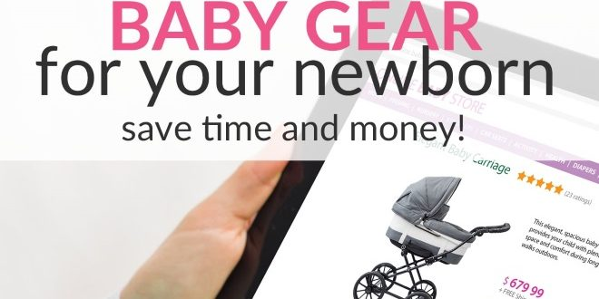 buying baby gear