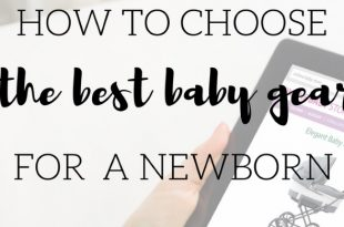 how to choose baby gear