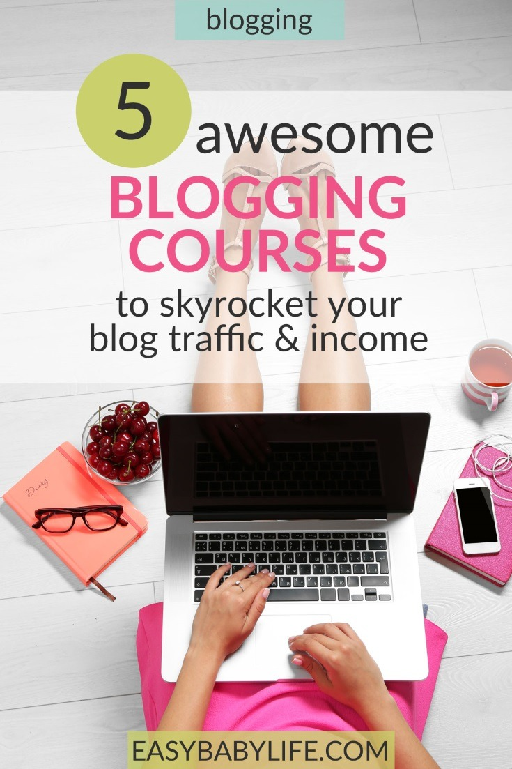 Here are the blogging courses that helped me increase my blog income 6 times last year!  Best blogger courses, Blogging courses, How to make money blogging,  SEO, blogging for money,  #bloggingtips