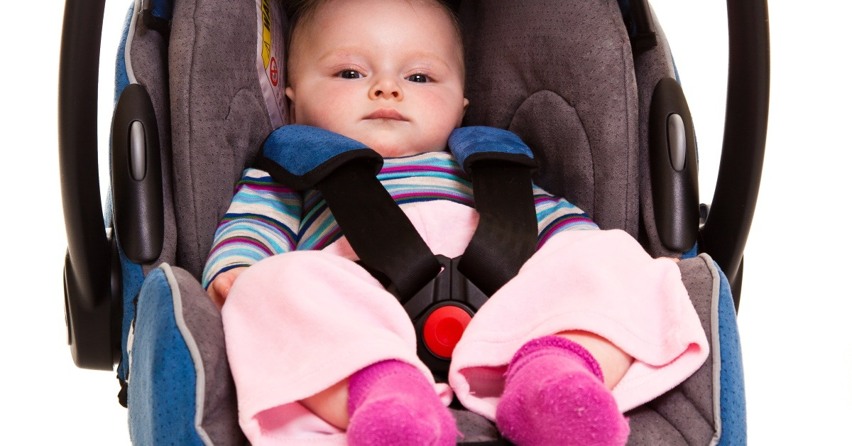 traveling by car with a baby