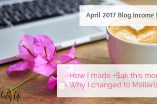 April 2017 blog income report